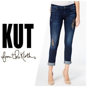 Kut from the Kloth Catherine Boyfriend Jeans👖